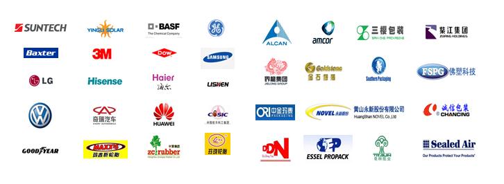 包装及工业品相关领域代表性用户